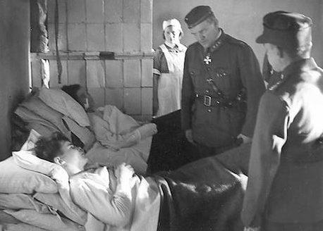 Военный госпиталь. 1940 г.