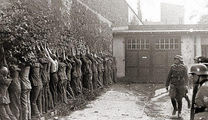 Почтальоны после капитуляции. Сентябрь 1939 г.