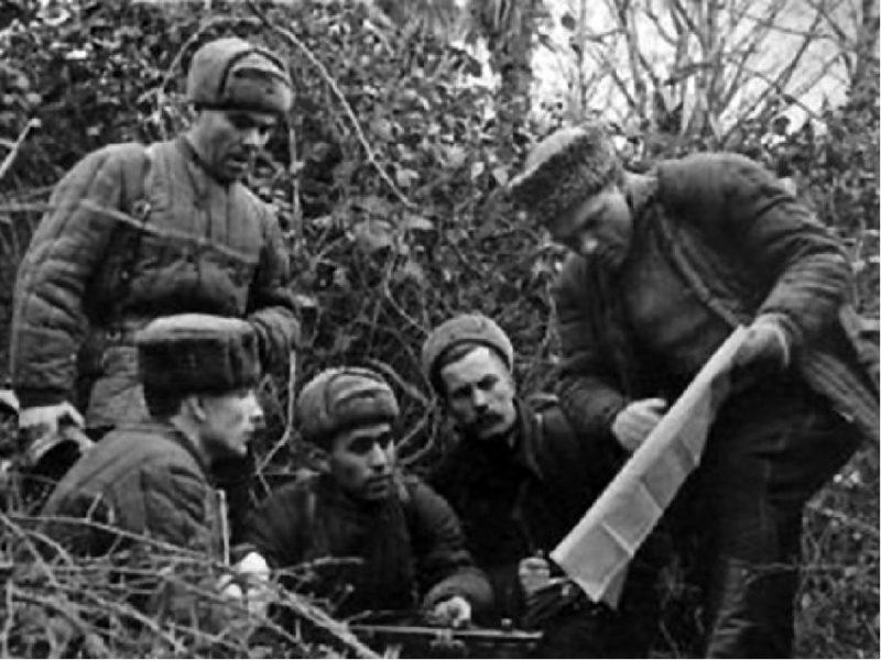 Крымские партизаны. 1942 г.