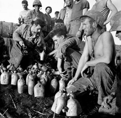 Перерыв между боями на острове Сайпан. Июль 1944 г.