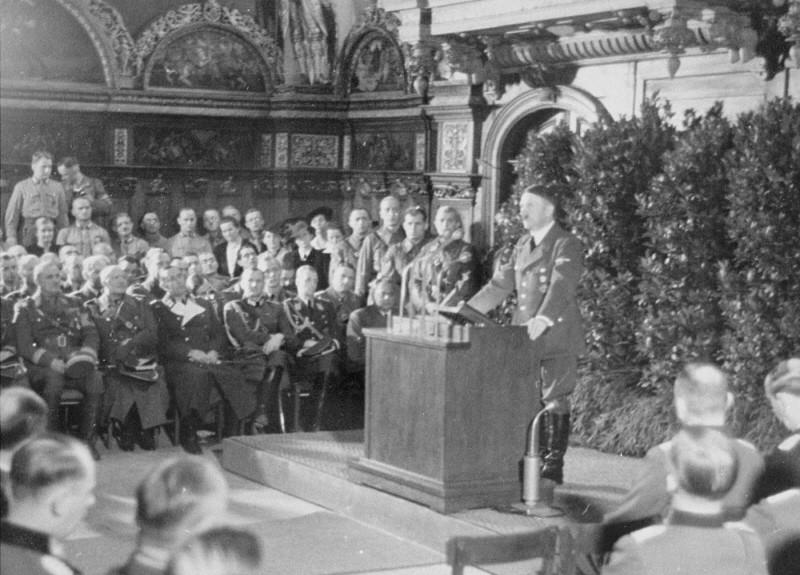 Гитлер в Данциге. 20 сентября 1939 г.