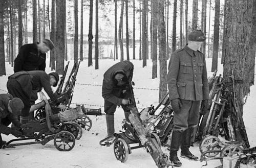 Финские трофеи. 1940 г.
