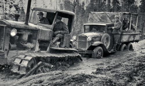 Трофейная техника на службе финнов. 1940 г.
