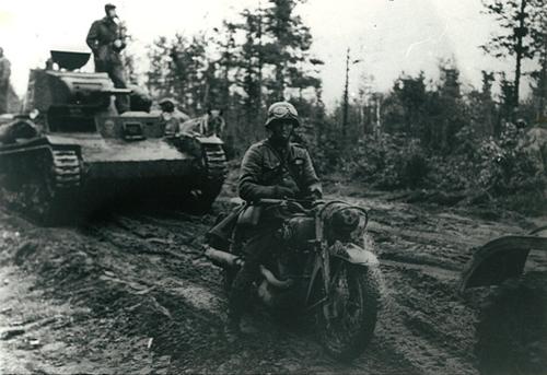 Т-26 на финской службе. Карелия. 1941 г.