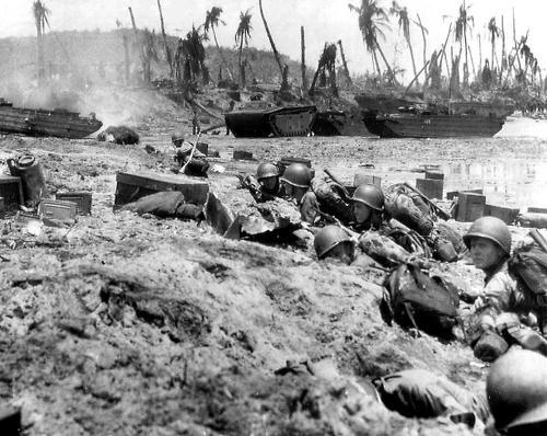 Десантирование на остров Гуам. Июль 1944 г.