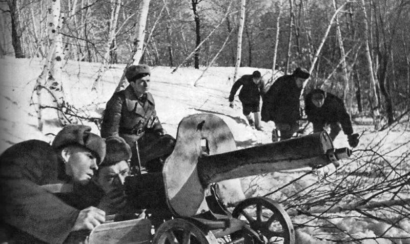 Курские партизаны. Февраль 1943 г.