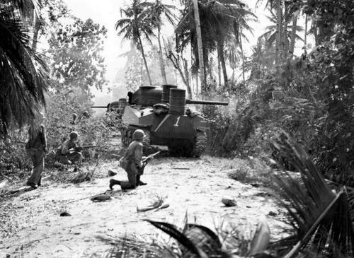 Бой в джунглях Гуама. Август 1944 г.
