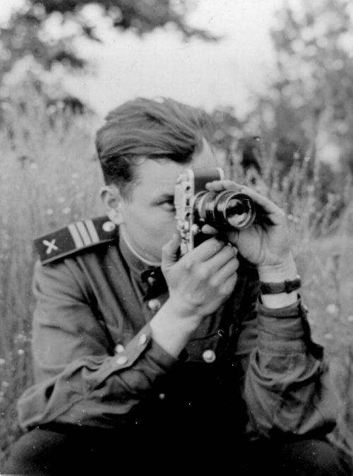 Фронтовой корреспондент.