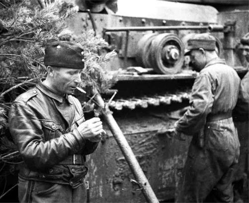 Танки Т-28 советского производства на финской службе. 1940 г.