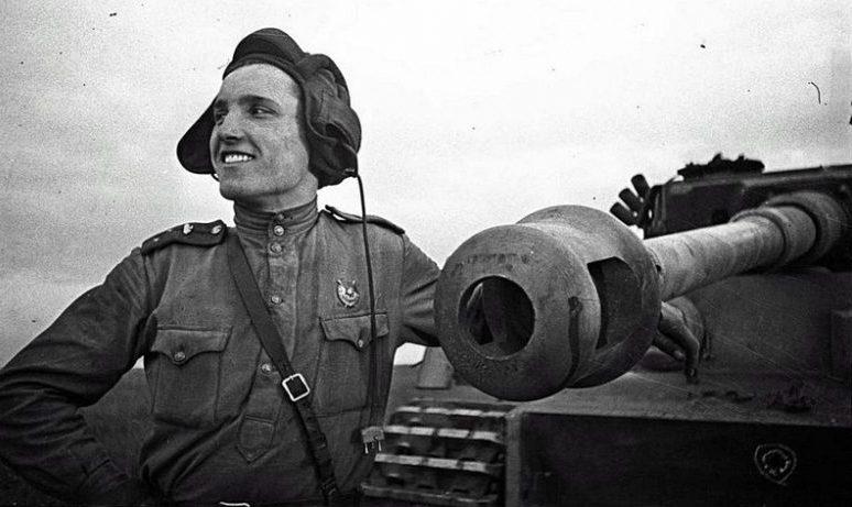 Майор Иван Корольков уничтоживший 34 немецких танка. 1943 г.