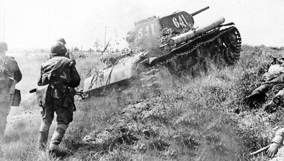 Тридцатьчетверки на Курской Дуге. 12 июля 1943 г.