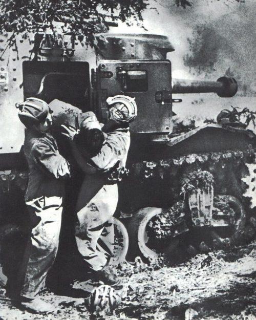 Тяжелый пехотный танк Mk IV Churchill в Красной Армии. 1943 г.