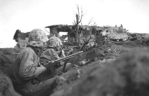 Бой на острове Иводзима. Февраль 1945 г.