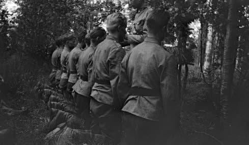 Молитва на фронте. Сало-Иссаккала, 26 июля 1941 г.