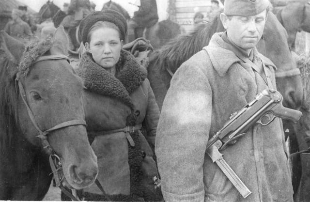 Брянские партизаны. 1943 г.