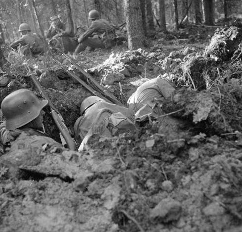 Отдых между боями. Паутсунсуо, июль 1941 г.