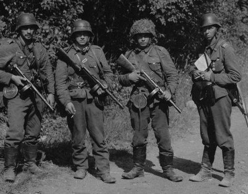 Финские автоматчиками. Рытыная, 21 июля 1941 г.
