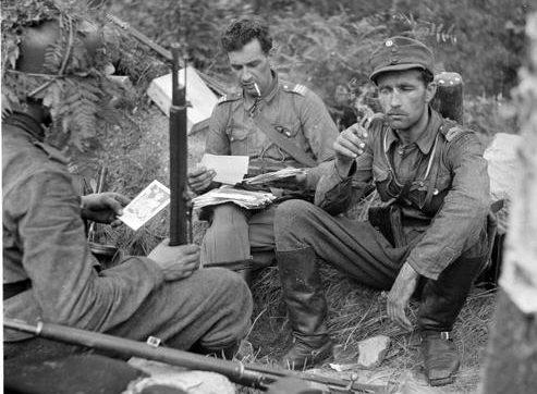 Почта для форпоста. Нуиджамаа. 28 июля 1941 г.