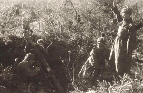 Красная Армия под Волховом. 1943 г.