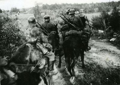 Финская кавалерия. Осень 1941 г.