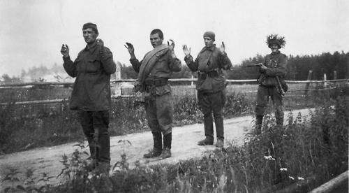 Советские военнопленные. 1941 г.