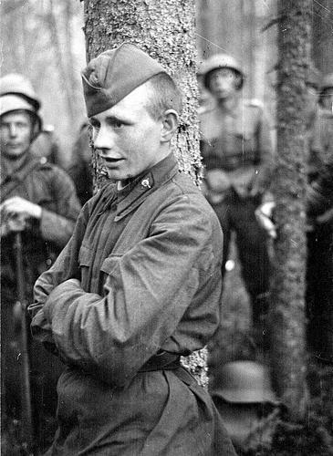 Советский лейтенант в плену. 1941 г.