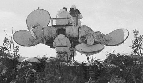 Акустические локаторы. 1941 г.