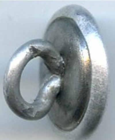 Пуговица для кепи Вермахта диаметром 12 мм.
