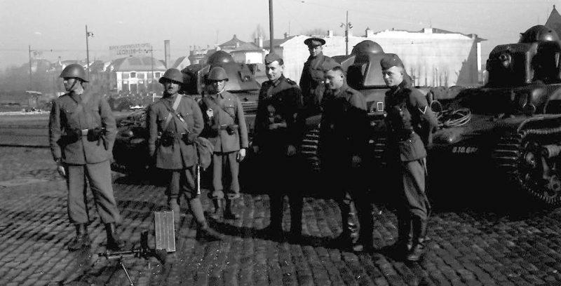 Легионеры в Бухаресте.