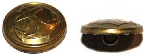 Пуговицы латунные образца 1924 года.