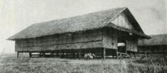 Барак в лагере Кабанатуан.