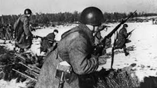 Советские войска под Ковелем.