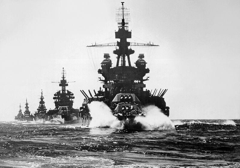 Американская эскадра приближается к филиппинским берегам.