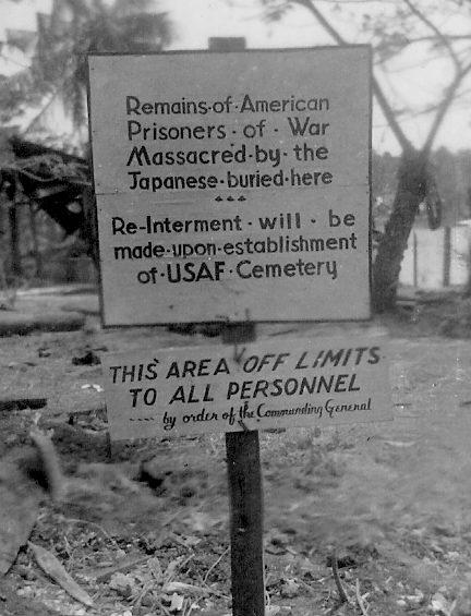 Место захоронения жертв резни на Палаване.