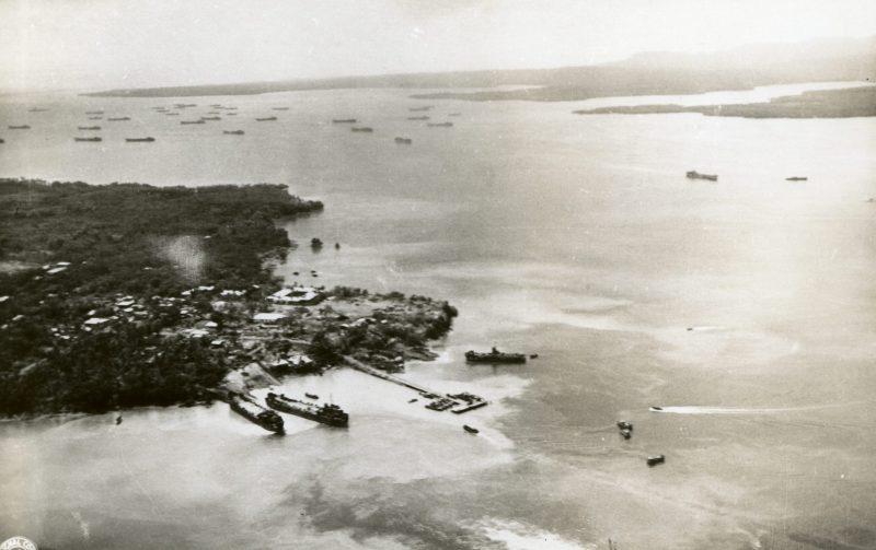 Высадка американского десанта на Палаван.
