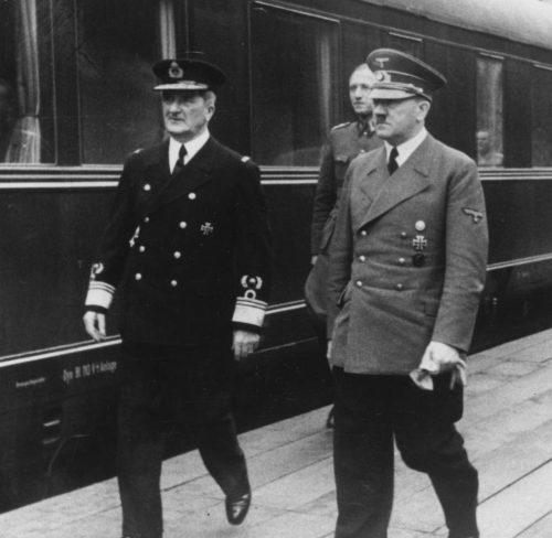 Гитлер и Хорти. Март 1944 г.