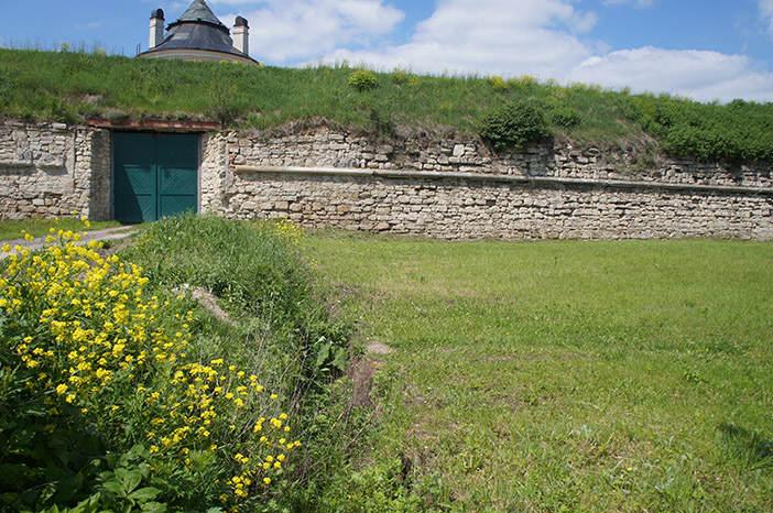 Место массового захоронения убитых евреев у Золочевского замка.
