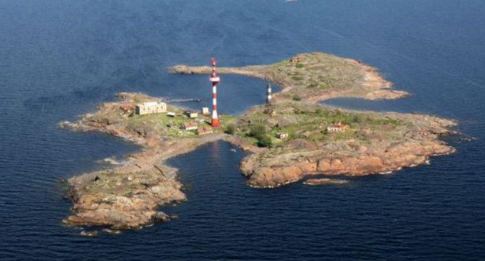 Остров Соммерс с высоты.
