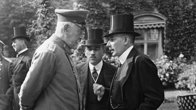 Переговоры во время заключения англо-польского военного альянса. 31 марта 1939 г.