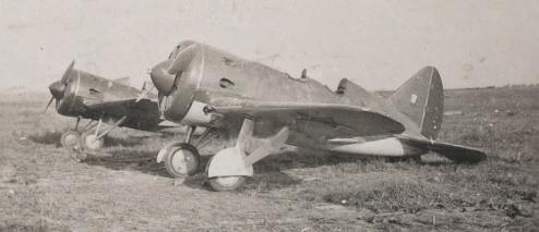 Военный аэродром в Дубно. Июнь 1941 г.