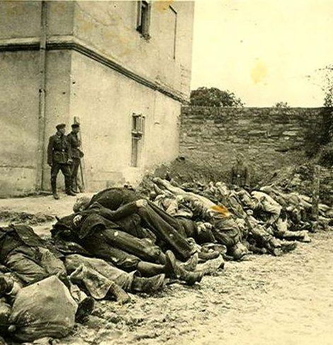 Заключенные, расстрелянные НКВД в тюрьме на Лонцкого.