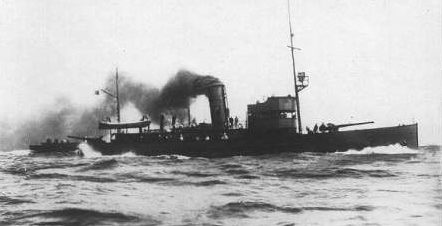 Финская канонерская лодка «Уусимаа».