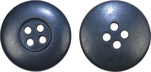 Пуговица серого цвета для Люфтваффе диаметром 22 мм.