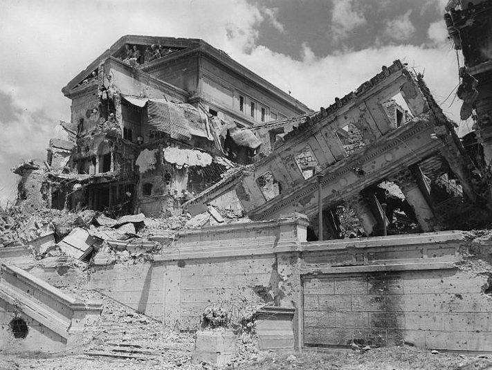 Разрушения в Маниле.