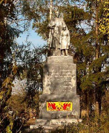 с. Несено-Иржавец Оржицкого р-на. Памятник воинам-освободителям.