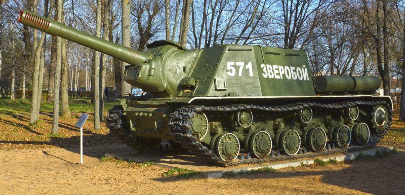 Самоходная артиллерийская установка ИСУ-152.