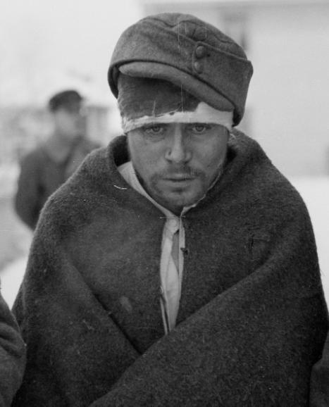 Советские военнопленные. Финляндия, Рованиеми, январь 1940 г.