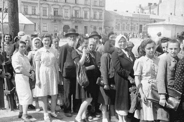 Первые дни немецкой оккупации. Июль 1941 г.
