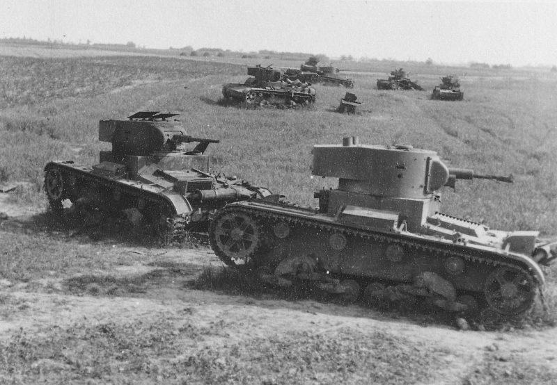 Поле битвы у Дубно. 25-29 июня 1941 г.