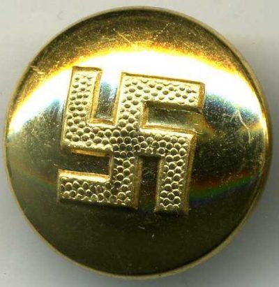 Ранние пуговицы членов НСДАП улучшенного качества.